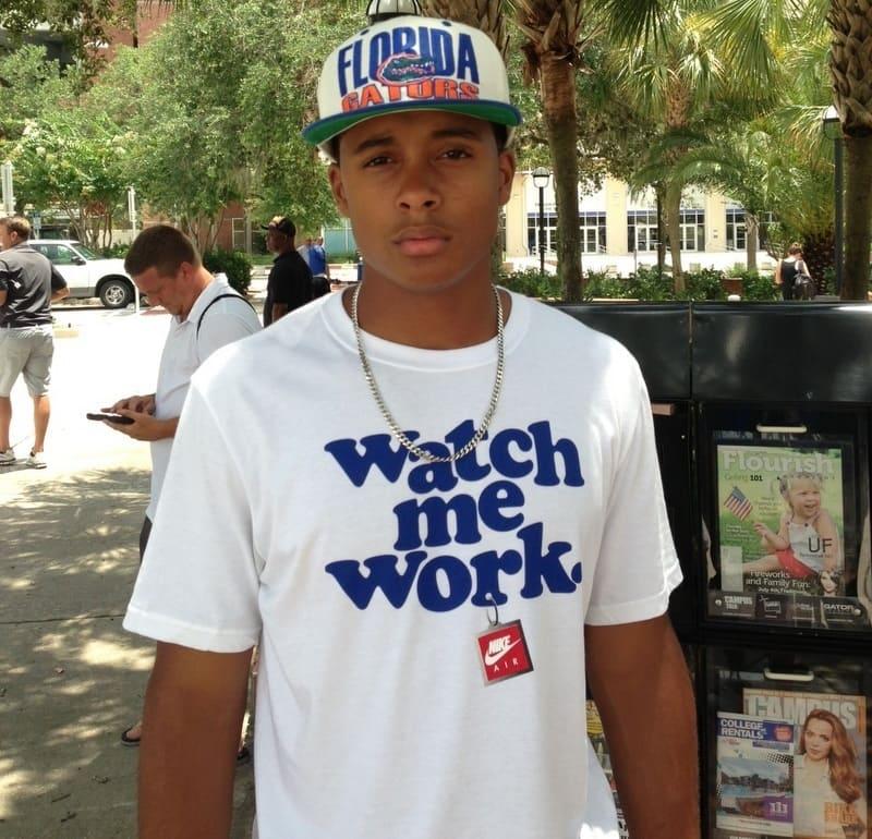 Florida Gators 2014 cornerback prospect Quincy WIlson.