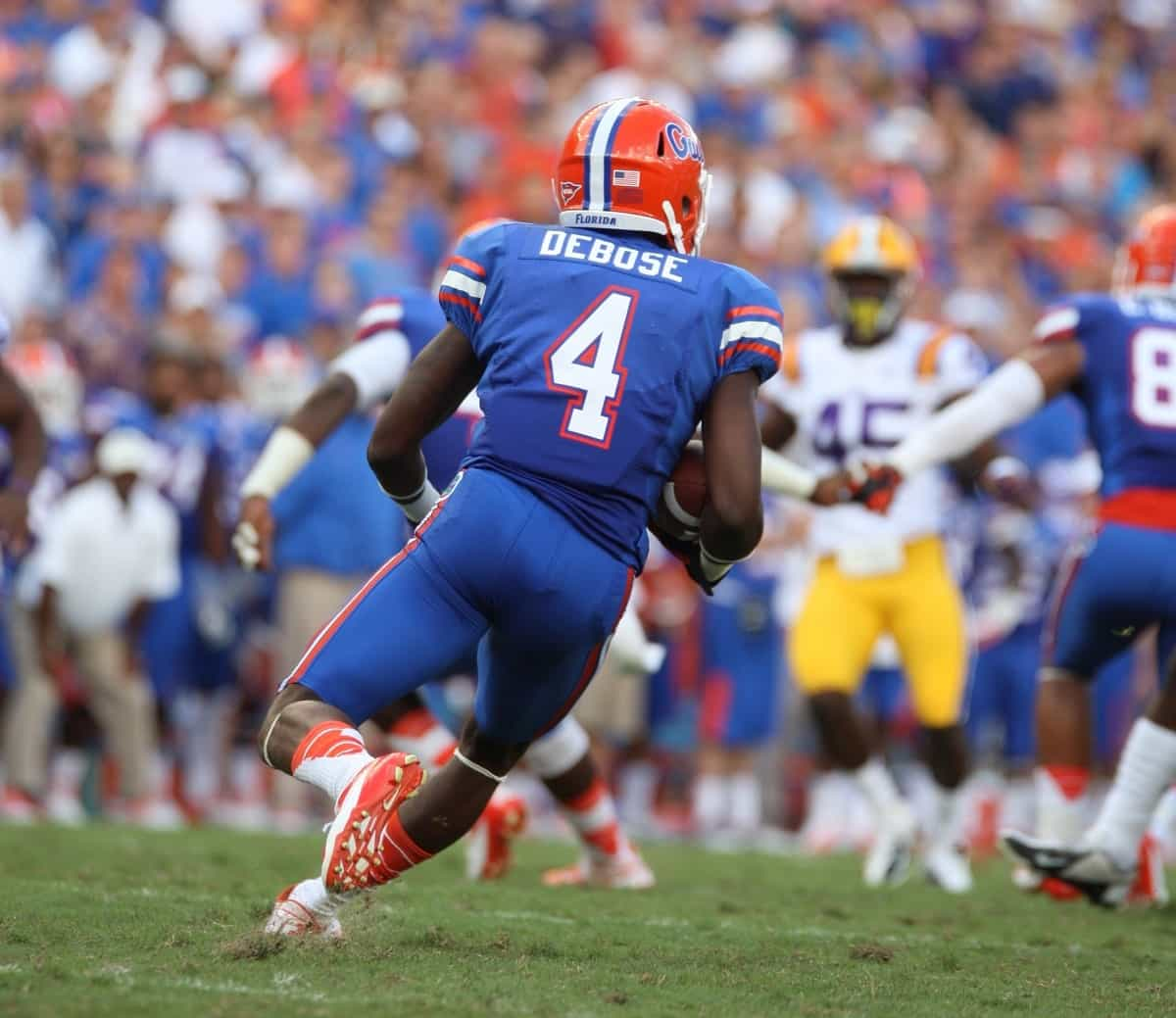 Andre Debose returns for his sixth season with the Florida Gators. / Photo by David Bowie
