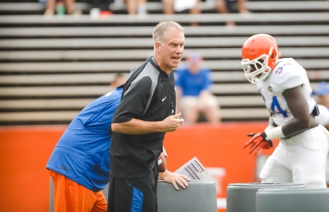 Durkin and Pease talk camp