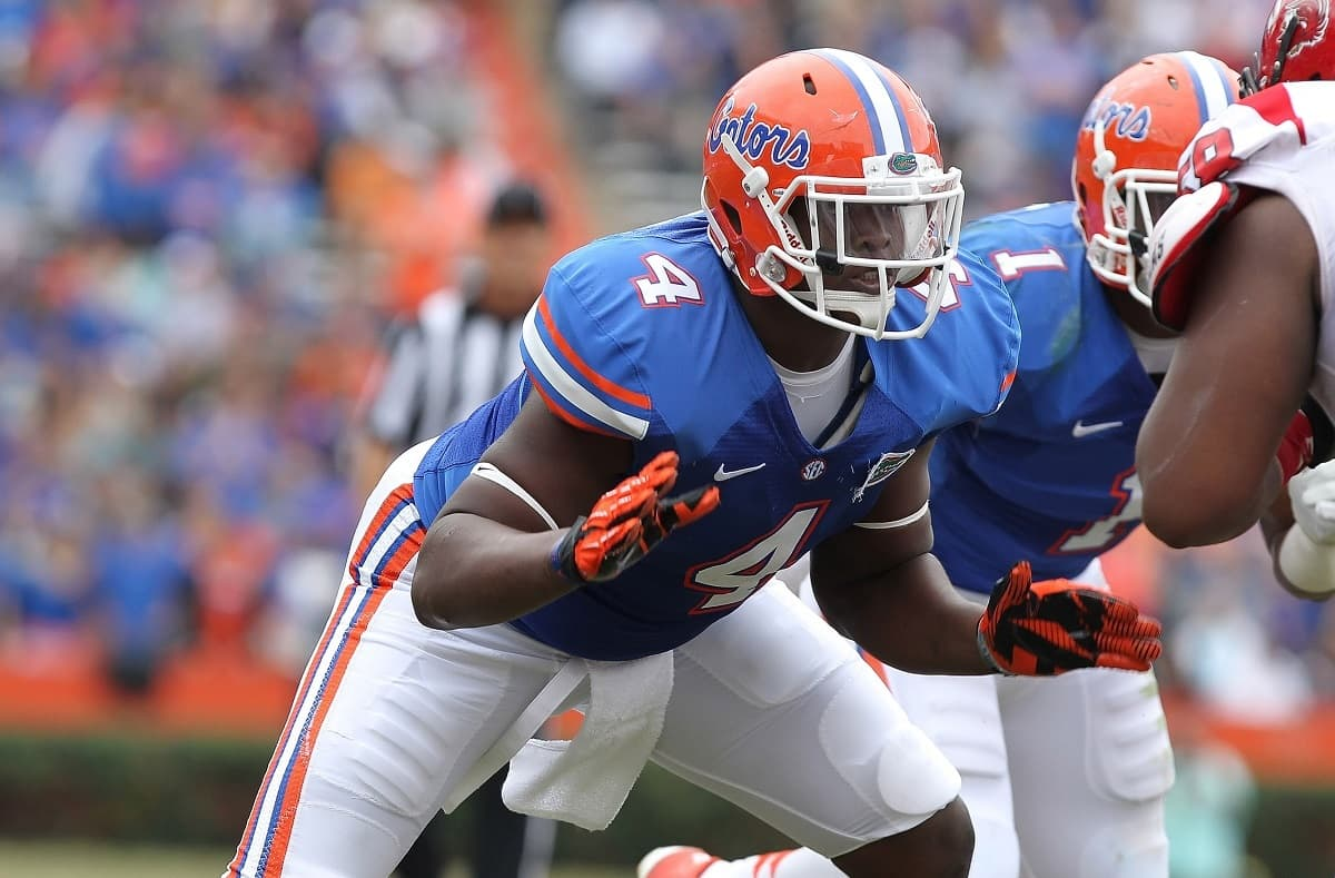 Damien Jacobs will be a reliable piece of the Florida Gator defensive line this season. Photo Credit: Kim Klement-USA TODAY Sports