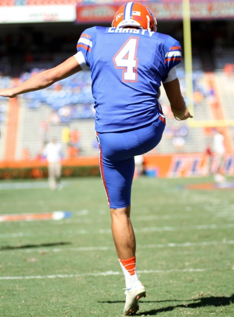Kyle Christy, Ben Hill Griffin Stadium, Gainesville, Florida