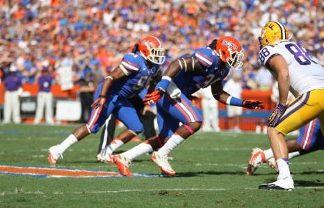 There is something odd about Florida's defensive front