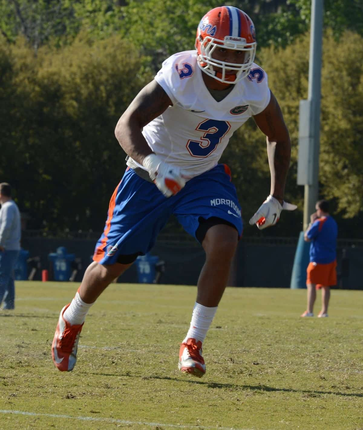 Linebacker Antonio Morrison should be a force in the middle of the Gators' defense this season.