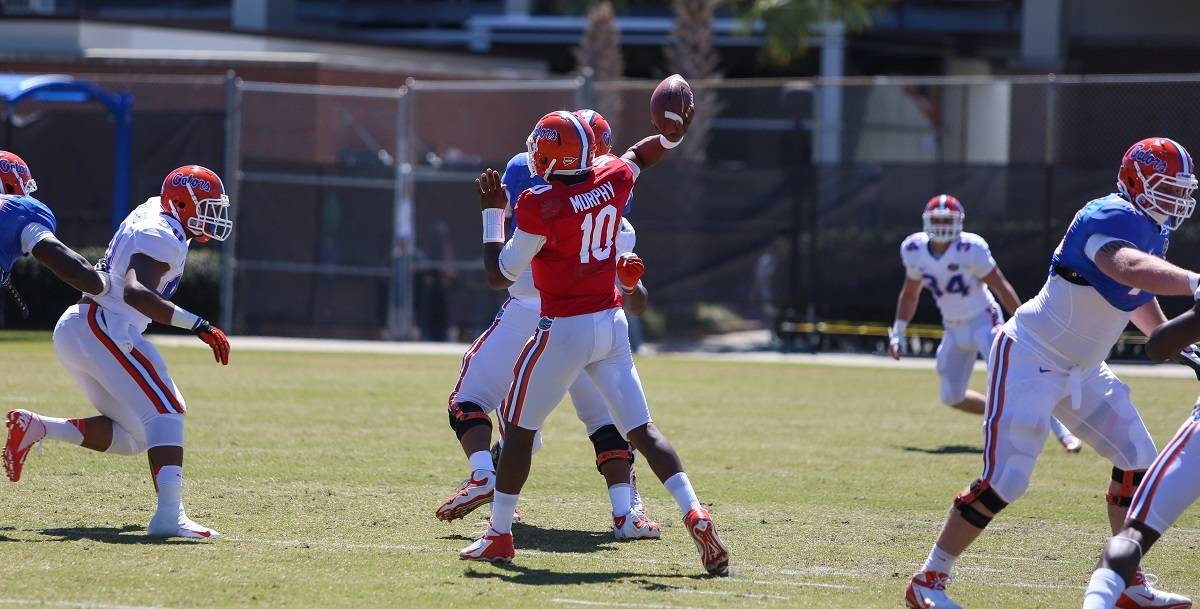 Quarterback Tyler Murphy is prepared to step up in starter Jeff Driskel suffers an injury.