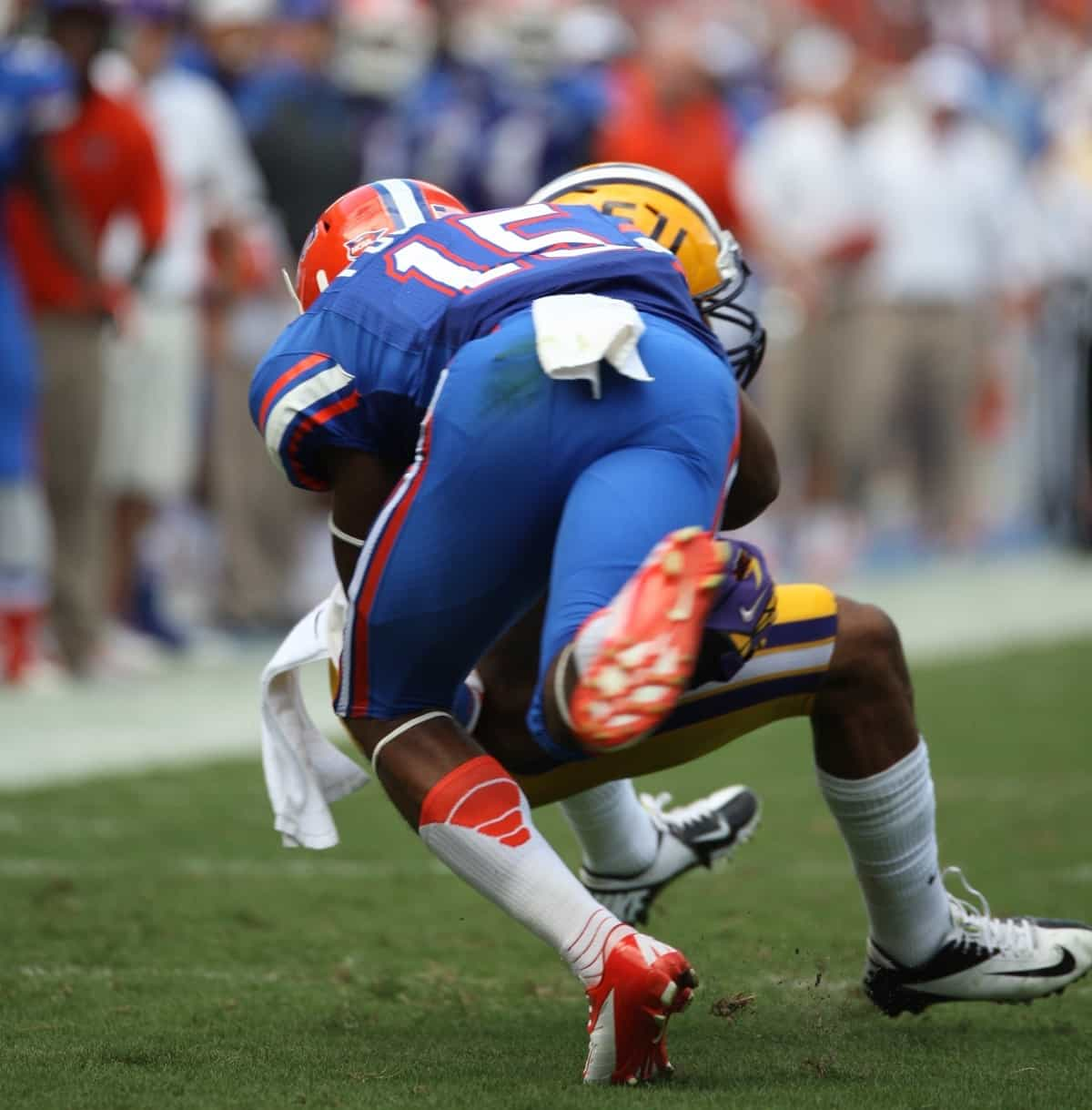 The new targeting rule in college football is sure to create controversy next season.
