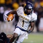 Toledo Rockets wide receiver Bernard Reedy will look to steal the spotlight in The Swamp. Andrew Weber-US PRESSWIRE