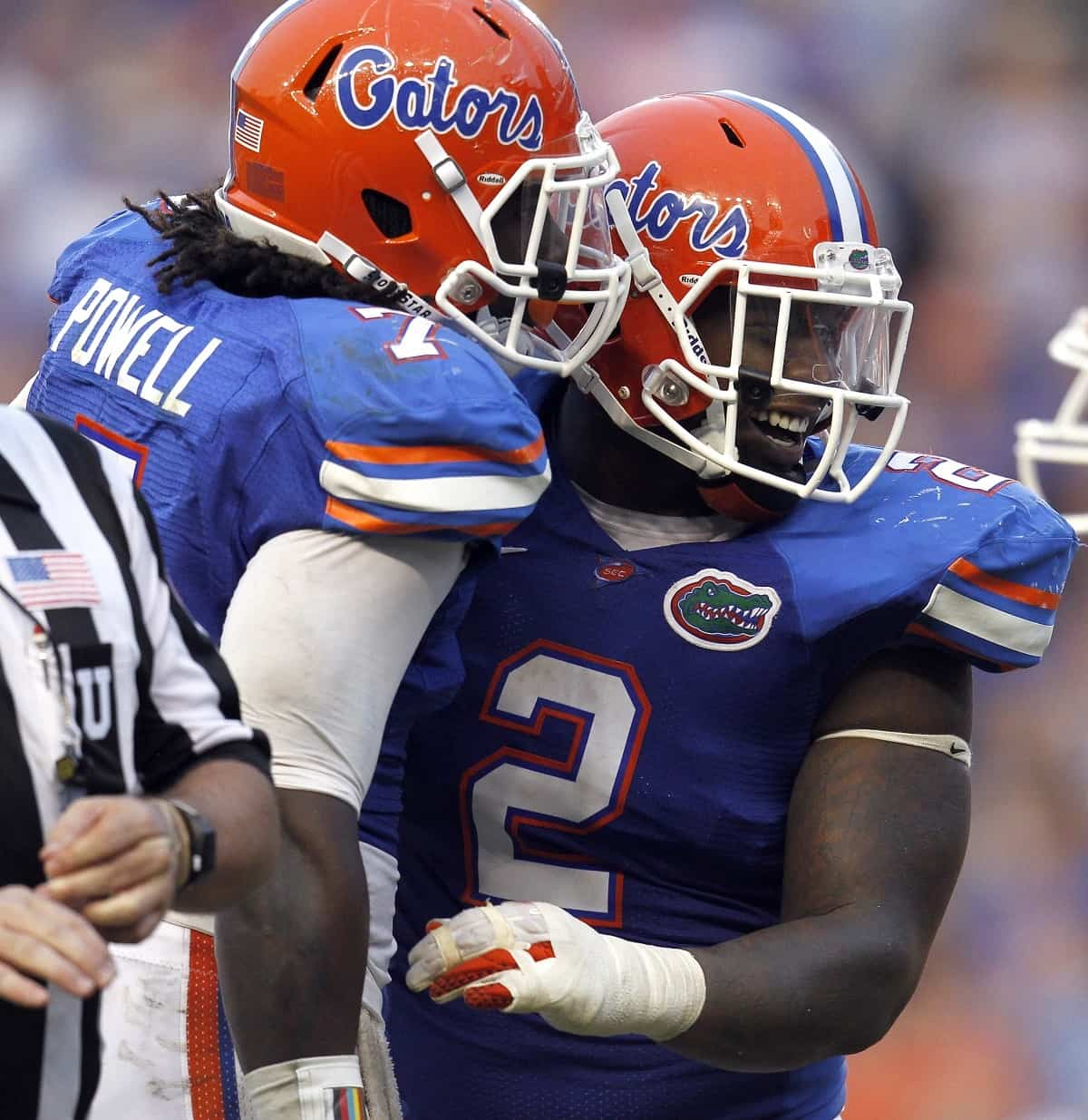 Florida linebacker Ronald Powell and defensive tackle Dominique Easley will share the field once again this season.