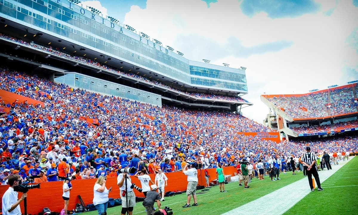 Ben Hill Griffin Stadium, Gator Growl, Gainesville, Florida