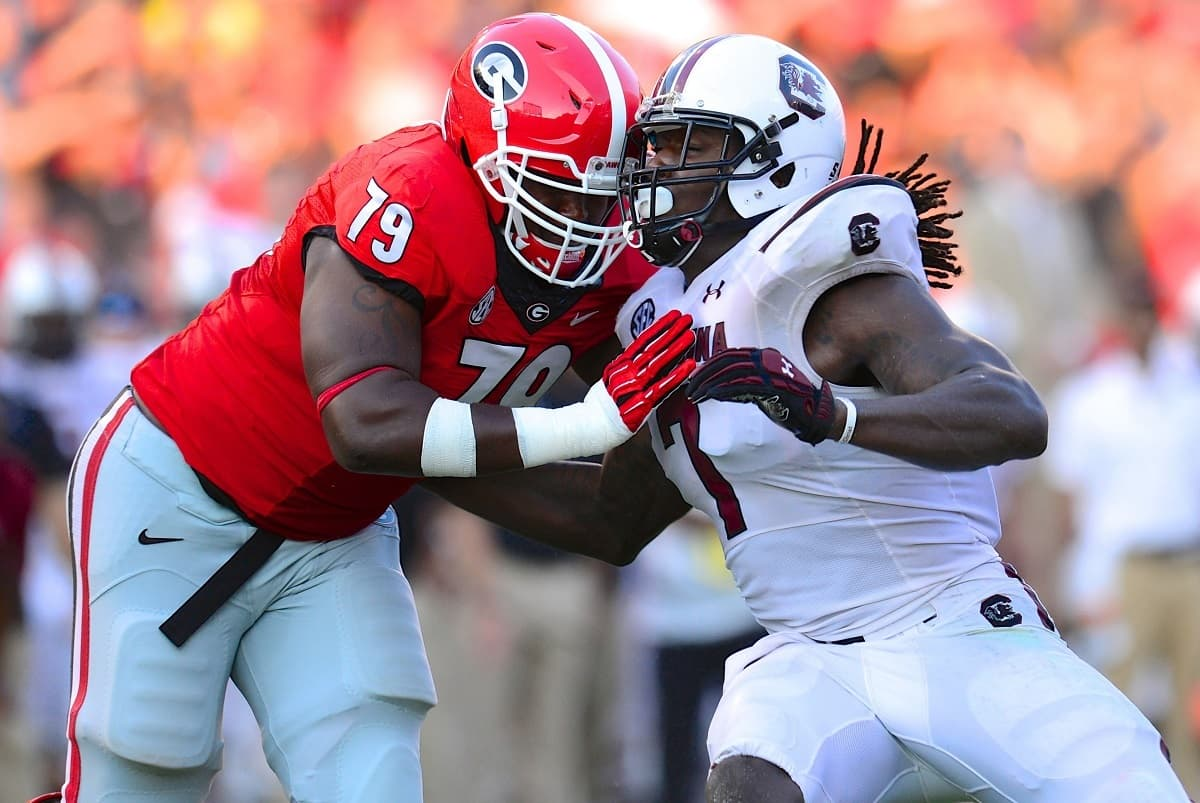Georgia came up with a big win on Sept 7, 2013 by defeating South Carolina 41-30. Photo Credit: Dale Zanine-USA TODAY Sports