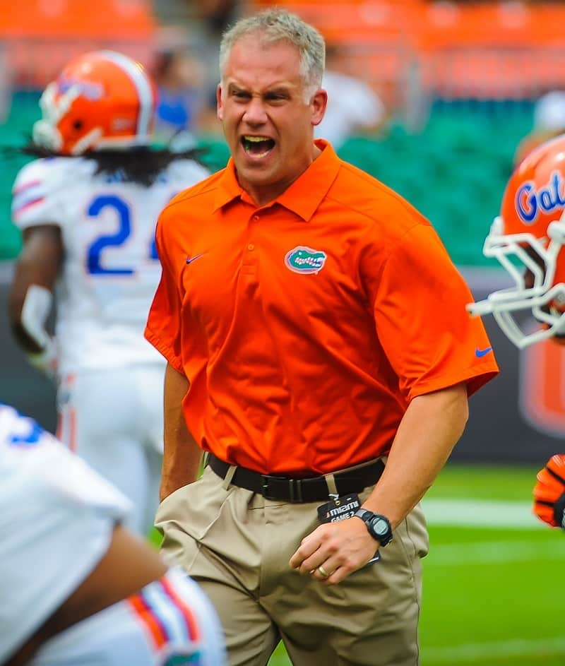 Florida defensive coordinator D.J. Durkin likes Rocel McWilliams as a BUCK end / Photo by David Bowie.