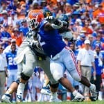 With the return of Todd Gurley to the Georgia lineup, the Gators will miss Dominique Easley even more / Gator Country photo by David Bowie.