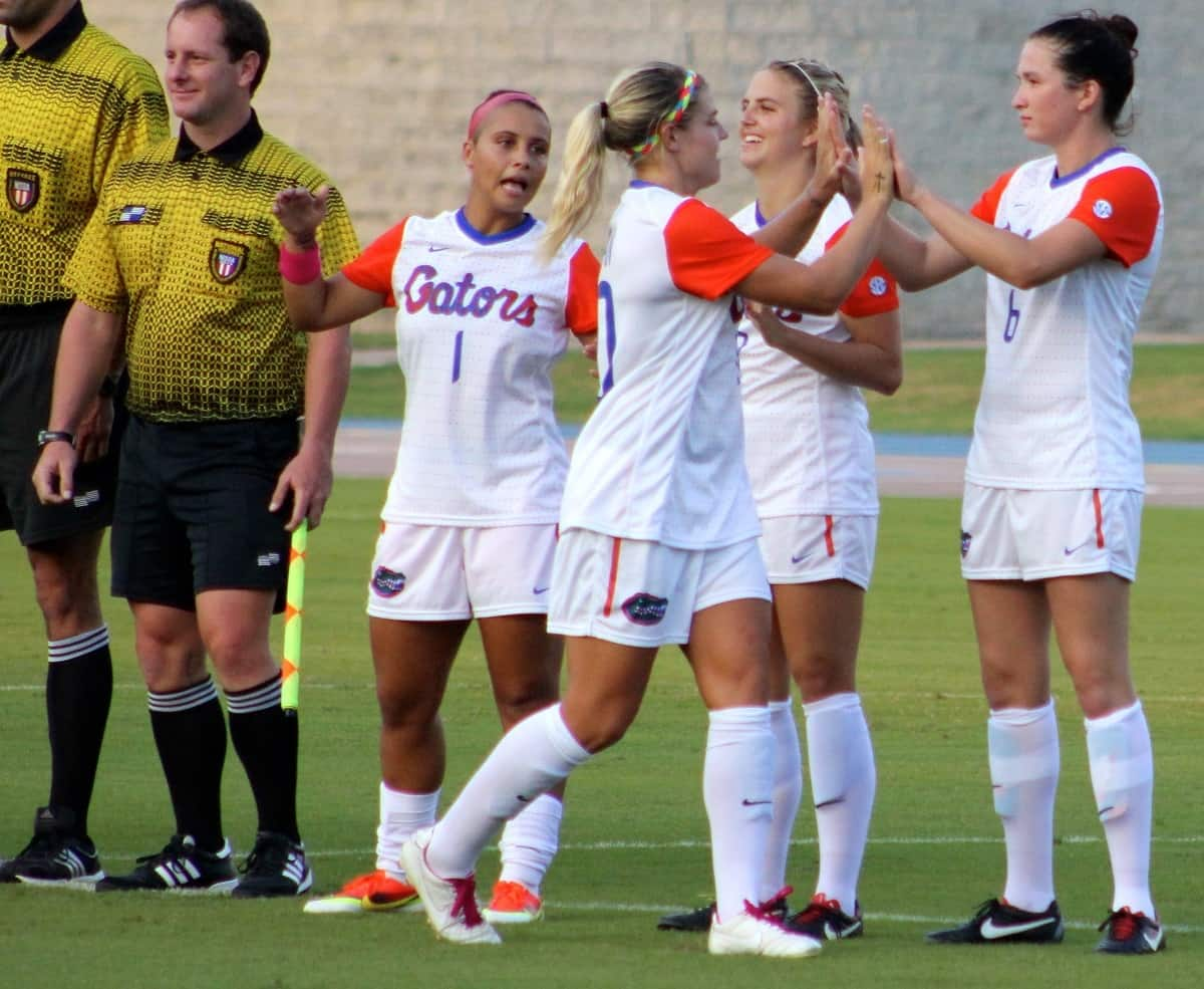 8588bfd9650 Florida Gators Soccer defeats LSU 3-0