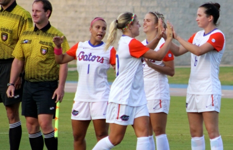Florida Gators Soccer ranked #8 to start the season
