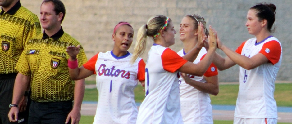 Florida Gators Soccer advances to the Sweet 16