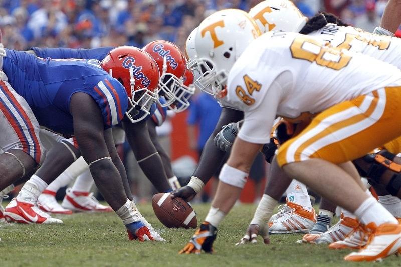 Florida-Gators-Versus-Tennessee-Volunteers-In-Ben-Hill-Griffin-Stadium-Florida-Gators-Football-800x533