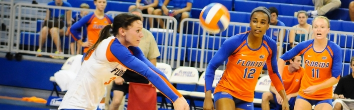 Florida Gators Volleyball sweeps Georgia 3-0