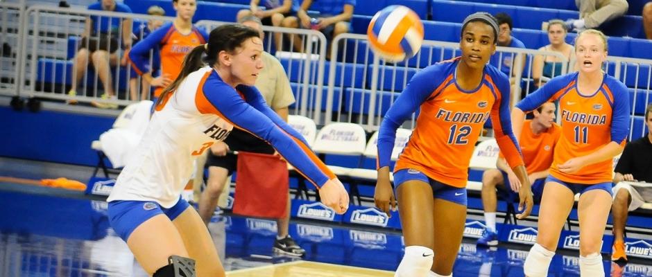 UF volleyball hits the road
