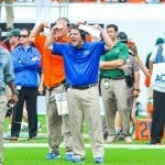 Will Muschamp says the buck stops with him when it comes to last year's 4-8 record / Gator Country Photo by David Bowie.