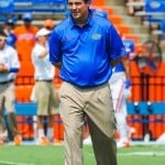 This is a critical spring for Florida coach Will Muschamp / Gator Country  Photo by David Bowie.