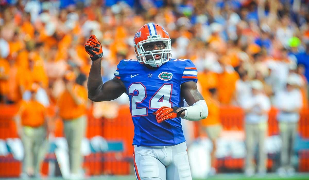 Florida Gators cornerback Brian Poole