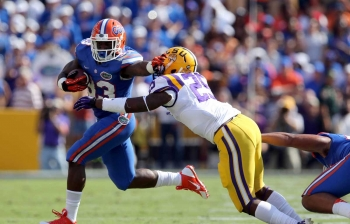 Outslugged! LSU beats up Gators, 17-6