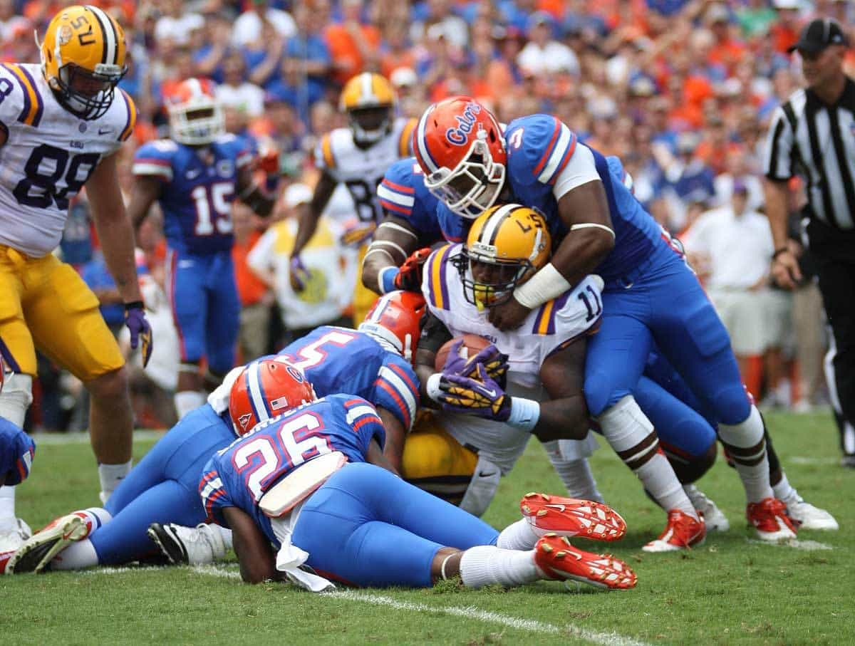 Florida's defense is going to have to keep the Gators in each game / USAToday Photo.