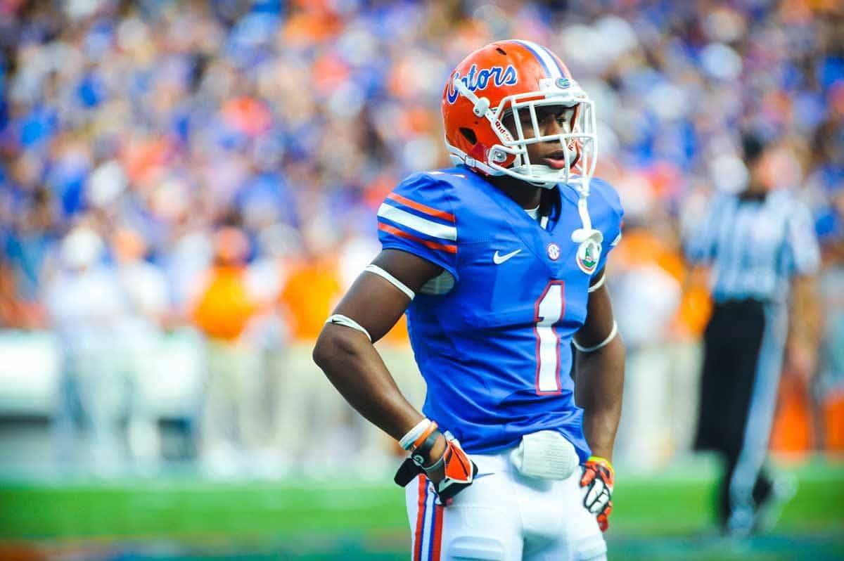 Vernon Hargreaves III capped off a brilliant freshman year by being named third team All-American / Gator Country Photo by David Bowie