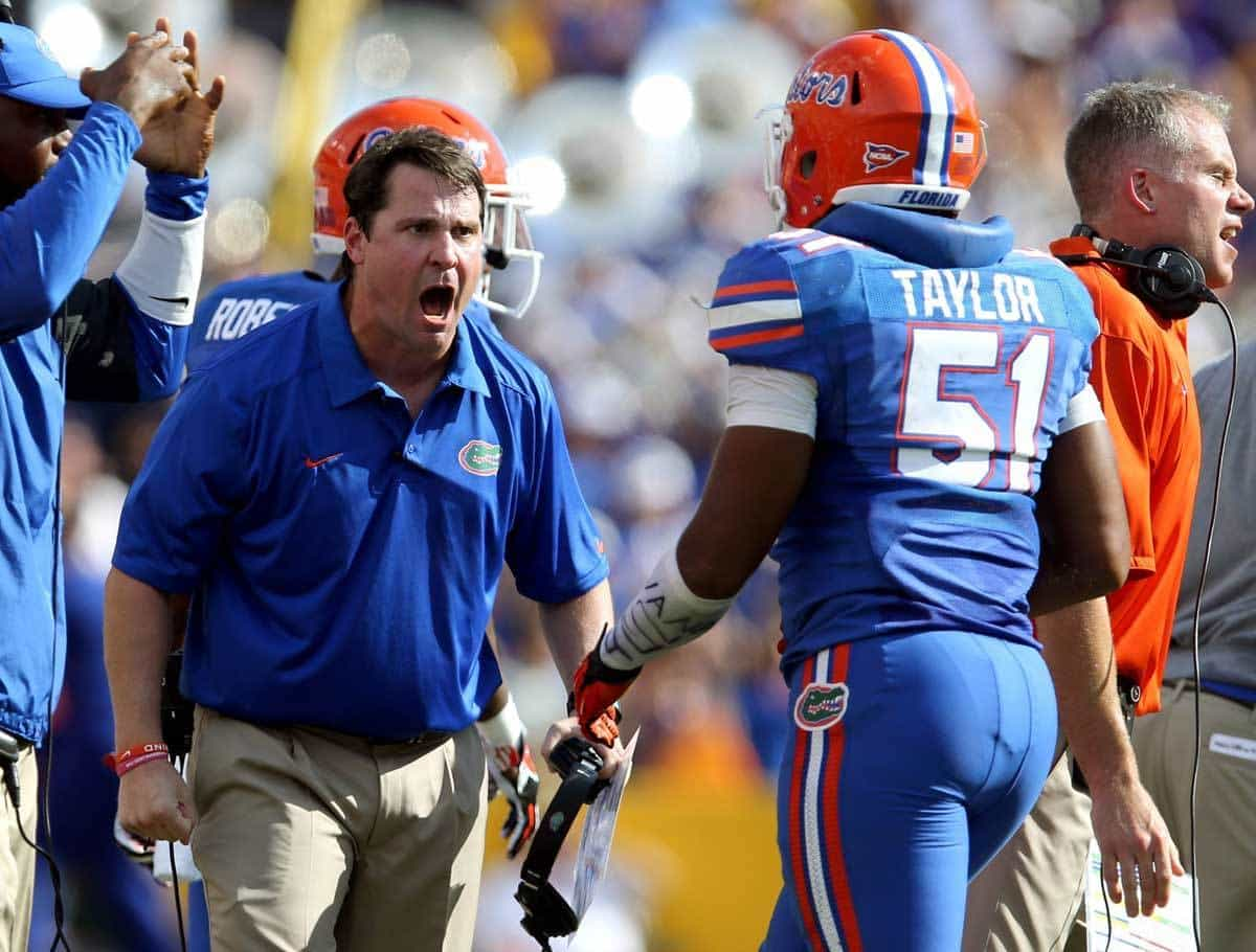 By changing offensive philosophy, Will Muschamp is undergoing a re-invention of himself as a coach  / USAToday Photo.