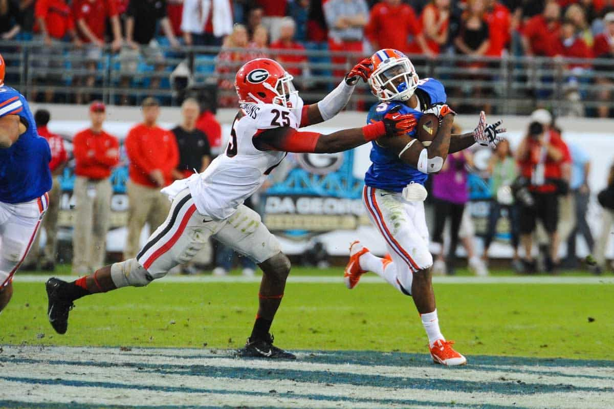 Could Ahmad Fulwood have a breakout game for the Gators Saturday? / Gator Country photo by David Bowie