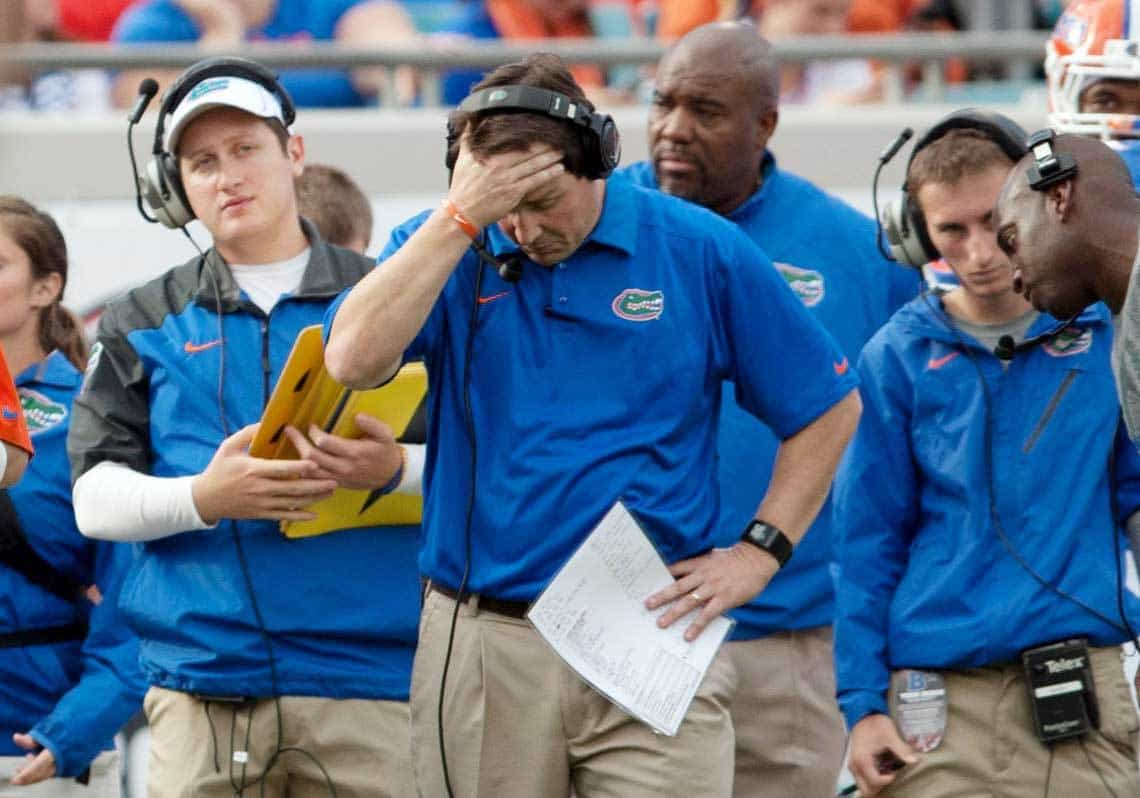 Will Muschamp's biggest battle is negative perceptions about the UF football program / Photo: Rob Foldy-USA TODAY Sports