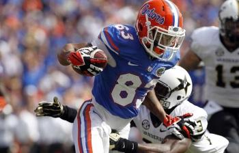 Vanderbilt takes out Gators, 34-17