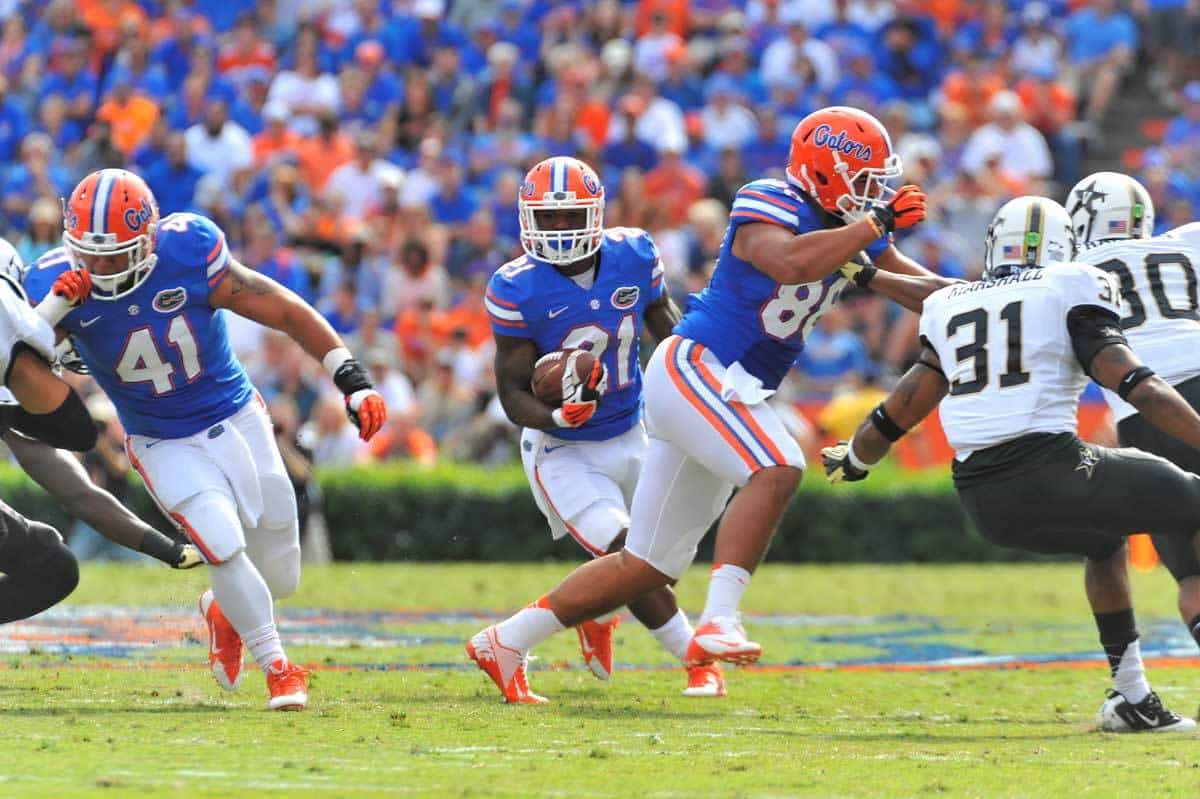 Kelvin Taylor should continue his development into a feature back Saturday  Gator Country Photo by David Bowie