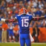 Loucheiz Purifoy skipped his senior season but went undrafted last weekend.