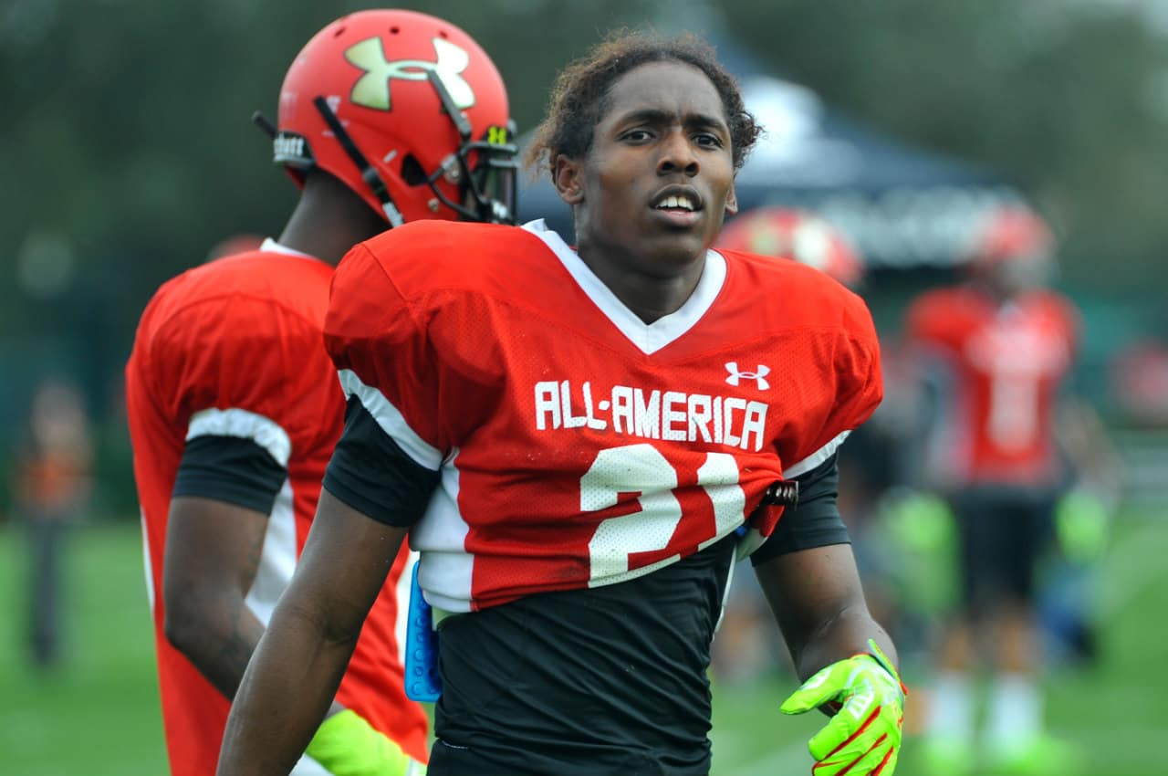 Adoree' Jackson tests his skills against the best players in the country at the Under Armour All-American game.