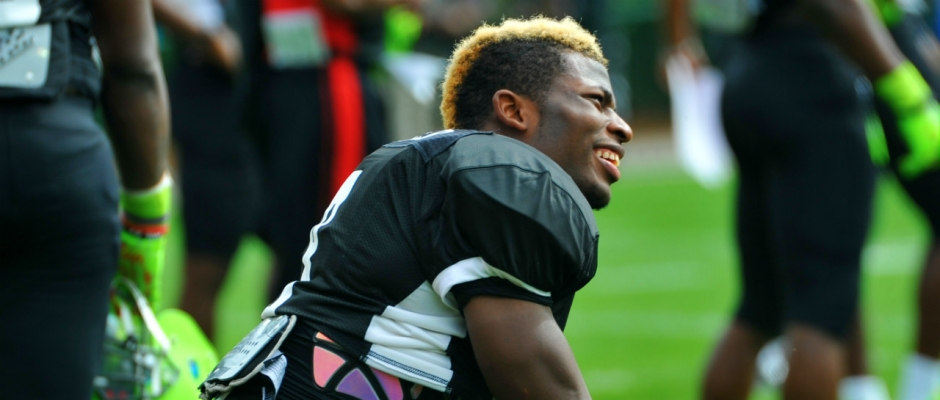 Comfort is the key for Lorenzo Carter
