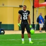 Quincy Wilson at Under Armour All-American practice.