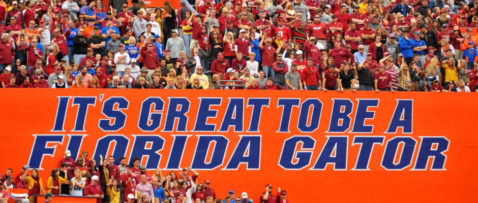Florida Gators Sport Report and Nostalgia for September 12th