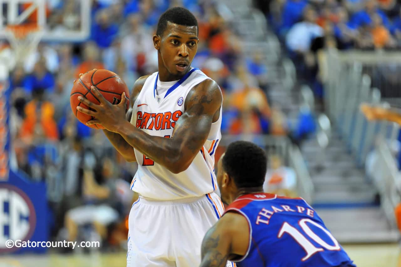 Casey Prather was selected first team All-SEC / Gator Country Photo by David Bowie
