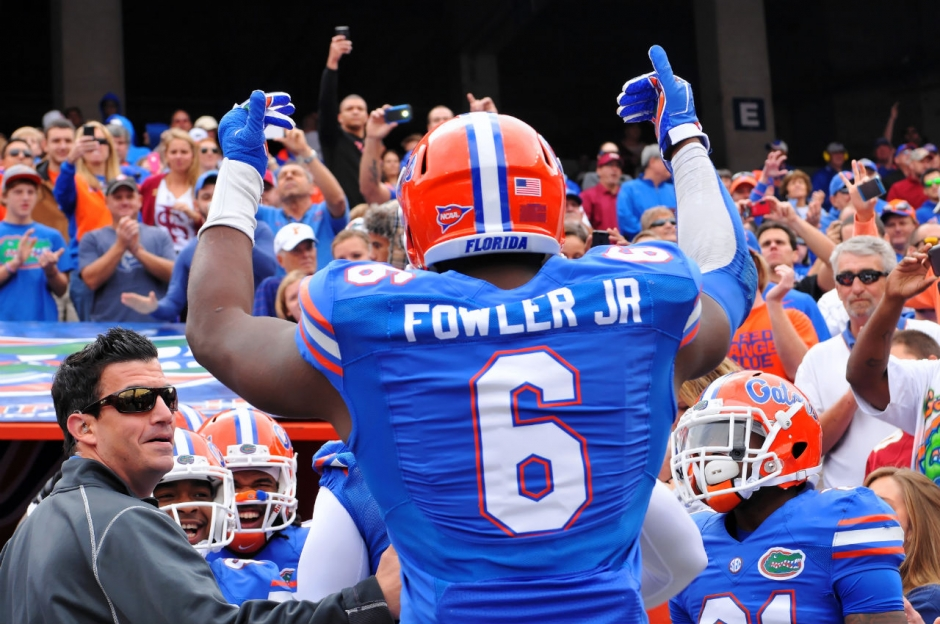 Dante Fowler, Florida Gators, University of Florida, Gainesville, Florida