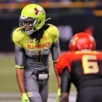 Ermon Lane at the Under Armour All-American game.