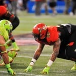 Gerald Willis at the Under Armour All-American game.