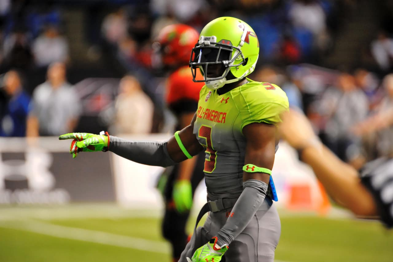JC Jackson at the Under Armour All-American game.