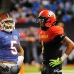 Jalen Tabor wants to follow in Joe Haden's footsteps at Florida // Photo By: Nick de la Torre // property of Gator Country / Tim Casey