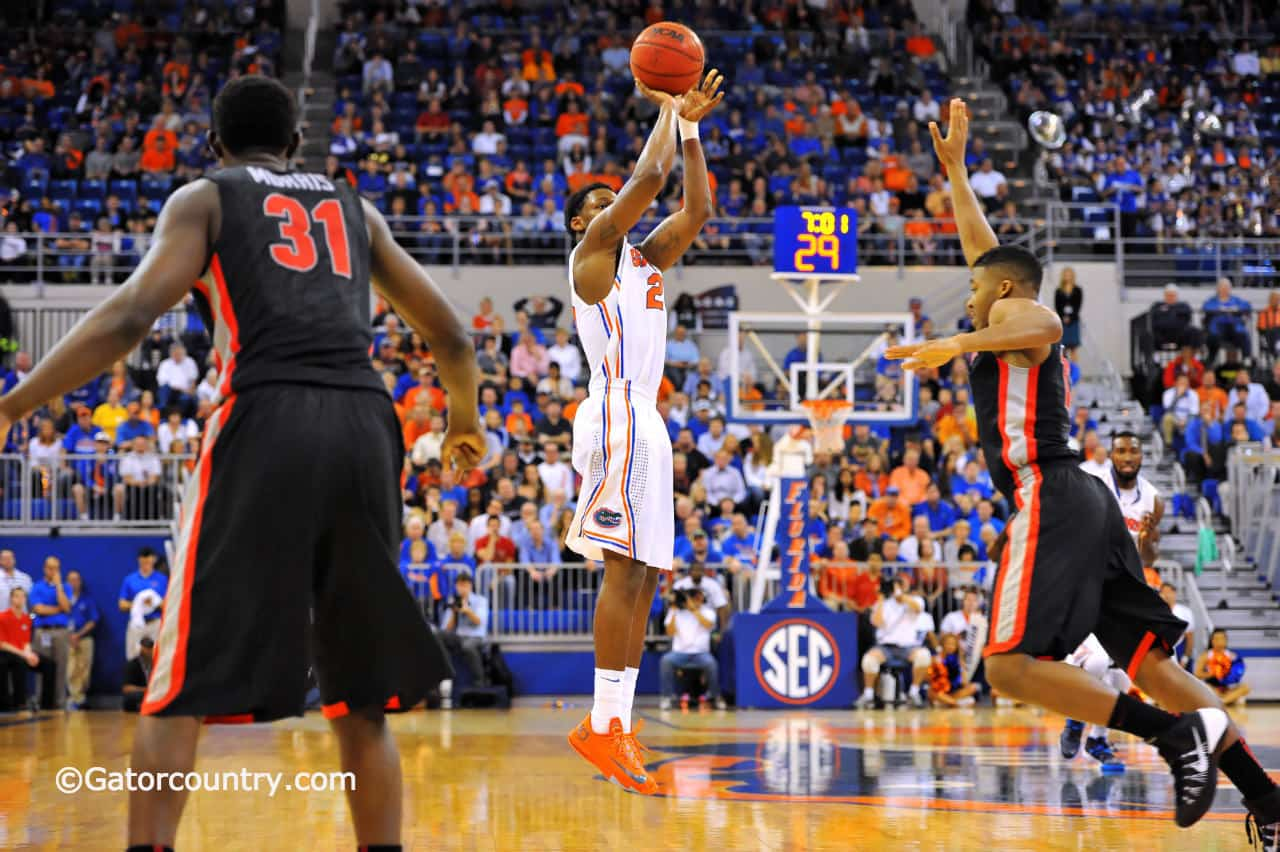 Michael Frazier could be the difference maker for the Gators / Gator Country Photo by David Bowie