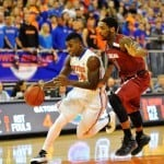 Casey Prather scored 13 points when the Gators beat South Carolina back in January /Gator Country Photo by David Bowie