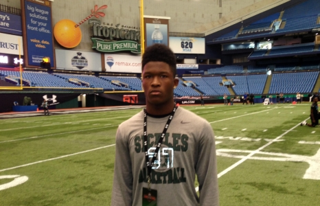 Ray-Ray McCloud has Gators in the mix