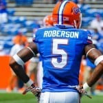 Marcus Roberson will forego his senior season for a chance at playing in the NFL.