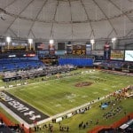 Tropicana Field for the Under Armour All-American game.