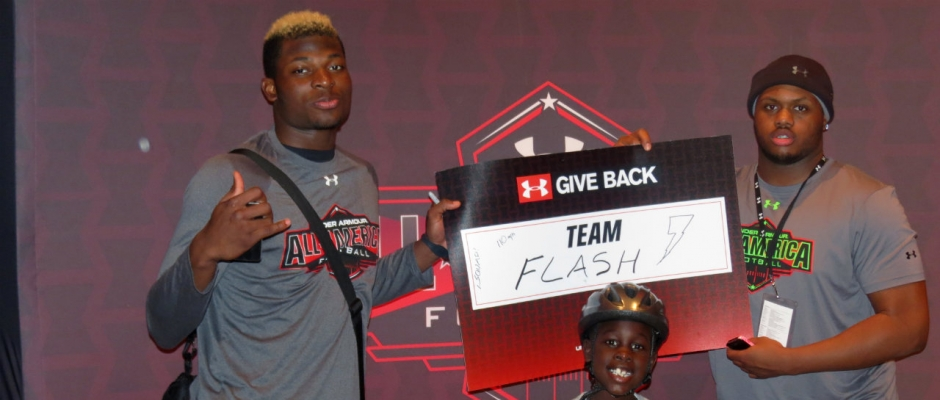 Under Armour game not just about football