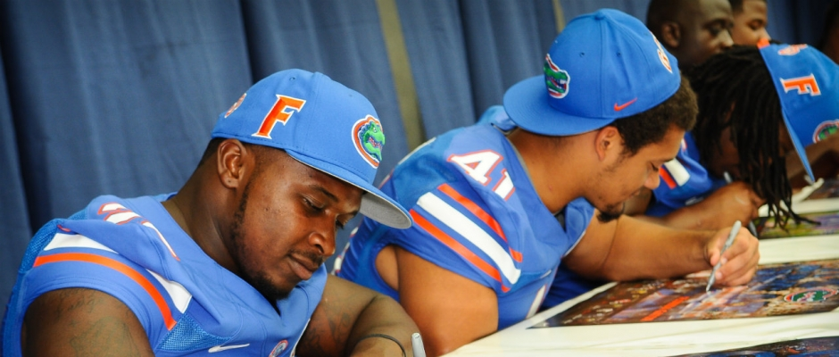 Two Florida Gators charged with second-degree misdemeanors